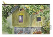 Artful Birdhouse Carry-all Pouch