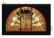 Artful Stained Glass Window Union Station Hotel Nashville Carry-all Pouch by Susanne Van Hulst