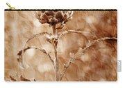 Artichoke Bloom Carry-all Pouch