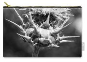 Artichoke Thistle Bw Carry-all Pouch