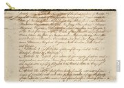 Articles Of Confederation Carry-all Pouch
