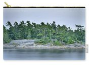 Artistic Granite And Trees  Carry-all Pouch