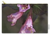 Artistic In Pink Carry-all Pouch