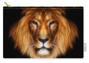 Artistic Lion Carry-all Pouch