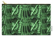 Artistic Sparkle Floral Green Graphic Art Very Elegant One Of A Kind Work That Will Show Great On An Carry-all Pouch