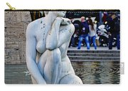 Artistic Statue That Has Gone To The Birds In Barcelona Carry-all Pouch