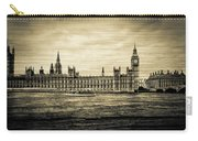 Artistic Vision Of Elizabeth Tower Big Ben And Westminster Carry-all Pouch
