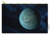 Artists Concept Of Kepler 22b, An Carry-all Pouch by Stocktrek Images