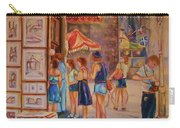 Artists Corner Rue St Jacques Carry-all Pouch