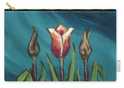 Artists In Bloom Carry-all Pouch by Brandy Woods