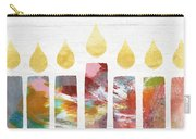Artists Menorah- Art By Linda Woods Carry-all Pouch