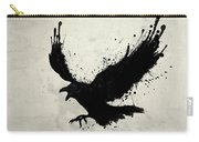 Raven Carry-all Pouch by Nicklas Gustafsson