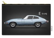 The 65 E-type Coupe Carry-all Pouch