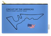 Circuit Of The Americas Carry-all Pouch