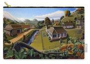 Appalachia Summer Farming Landscape - Appalachian Country Farm Life Scene - Rural Americana Carry-all Pouch