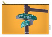 Broad And Pattison Where Philly Sports Happen Carry-all Pouch