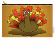 Worried Turkey Illustration Carry-all Pouch