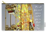 Wheel Of Fortune With Phrase Carry-all Pouch