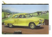 Studebaker Champion Antique Americana Nostagic Rustic Rural Farm Country Auto Car Painting Carry-all Pouch