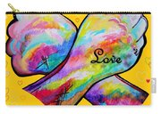 American Sign Language Love Carry-all Pouch