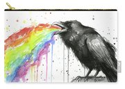 Raven Tastes The Rainbow Carry-all Pouch