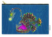 Electric Angler Fish Carry-all Pouch