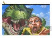 Tyrannosaurus Rex Jurassic Park Dinosaur - T Rex - Paleoart- Fantasy - Extinct Predator Carry-all Pouch