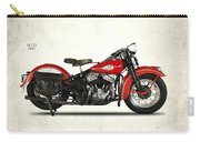Harley-davidson Wld 1941 Carry-all Pouch