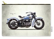 Harley Model Vd 1935 Carry-all Pouch