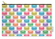 Colorful Pop Art Macarons Carry-all Pouch
