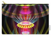 Alien Sphere Fractal Fantasy Carry-all Pouch