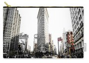 Desaturated New York Carry-all Pouch