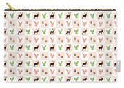 Rustic Wildlife Pattern Carry-all Pouch