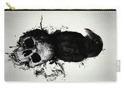 Raven And Skull Carry-all Pouch
