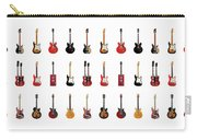 Guitar Icons No2 Carry-all Pouch