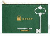 Open New Doors Business Quotes Poster Carry-all Pouch
