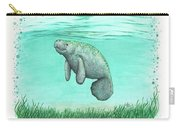 Mossy Manatee Carry-all Pouch