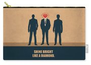 Shine Bright Like A Diamond Corporate Start-up Quotes Poster Carry-all Pouch