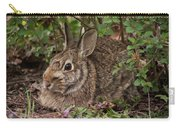 A Very Fine Bunny Resting Under The Lilac Bush Carry-all Pouch