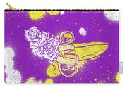 Floral Banana Carry-all Pouch