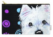 Kiniart Disco Westie Carry-all Pouch
