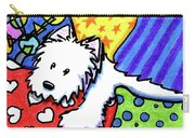 Pillow Pile Westie Carry-all Pouch