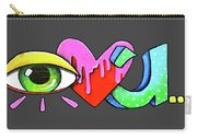 Eye Heart U Carry-all Pouch