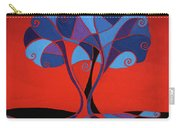 Enveloped In Red Carry-all Pouch