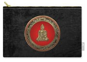 Treasure Trove - Gold Buddha On Black Velvet Carry-all Pouch