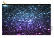 Galaxy Stars Teal Violet Pink Carry-all Pouch