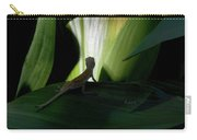 Baby Lizard Paths Lit And Dark Carry-all Pouch