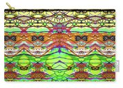 Wild Flowers Abstract Art - Sharon Cummings Carry-all Pouch