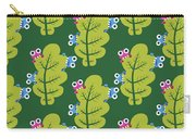 Cute Bugs Eat Green Leaf Carry-all Pouch
