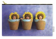 Sunflower Pots Carry-all Pouch by Anne Geddes